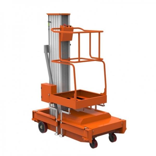 WORK PLATFORM, RECEPTION PLATFORM (ELECTRICITY, 220V / 1F / 50HZ), 125 KG, 6 M, GTWY6-100