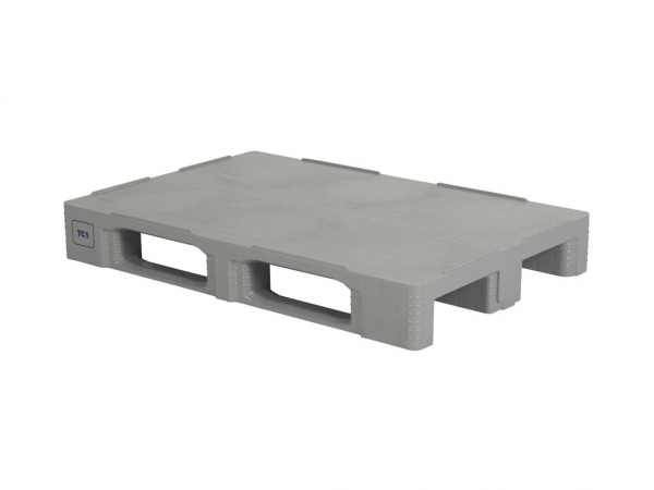 HYGIENE PALLET TC1 made of plastic, 1200 x 800 mm, clean room