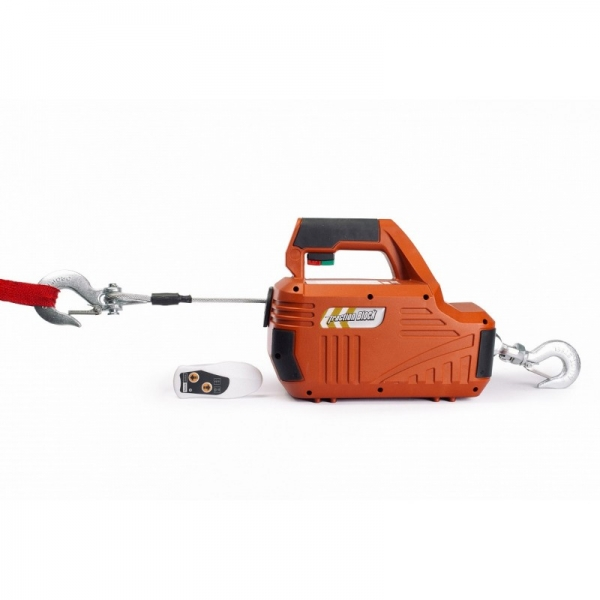 ELECTRIC WINCH PORTABLE SQ-01 450 KG, 4.6 M