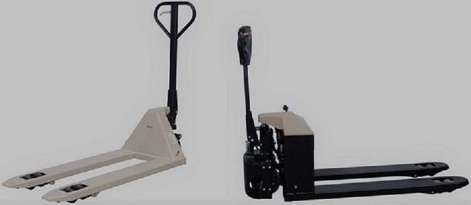 electro-hydraulic pallet jacks, The fork carriage of the CBD series works on the principle of