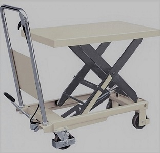 Lifting tables, TechTop.one's PTS and WP series lift tables are easy to use and ideal for supermarkets, wholesale stores, assembly workshops and warehouses. The tables are CE certified, have large wheels made of durable rubber and are suitable for moving