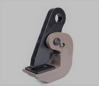 Sheet metal clamps, Sheet metal clamps are used to lift and move the sheet material in a vertical (DHQL, DSQA series) or horizontal (DHQA series) position.  The DHQL model has two degrees of freedom (left / right) and the DSQA model has four degrees of fr