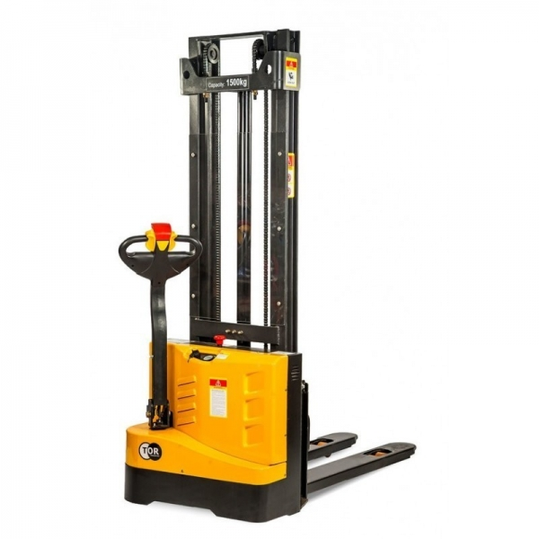 ELECTRIC STACKER 1.2 T, 2.5 M, MODEL WS12S-2500