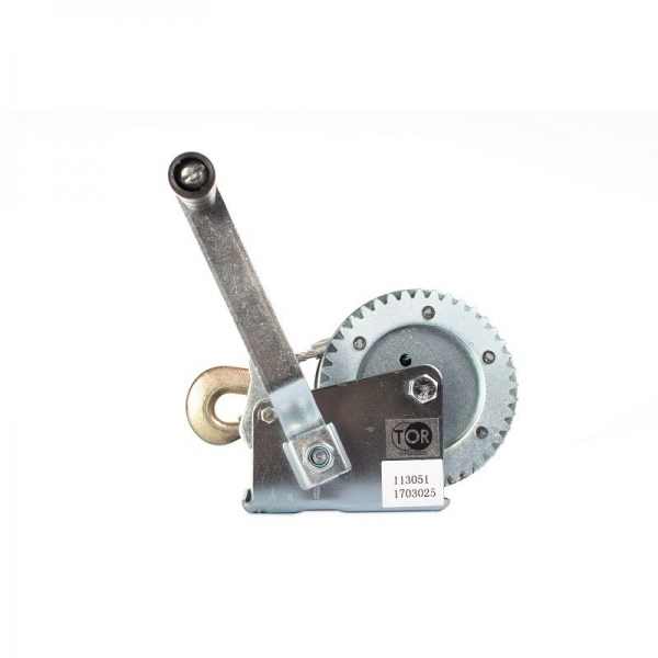 MANUAL ROPE WINCH (GEAR) FD-1200, 500 KG, ROPE LENGTH 10 M