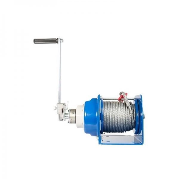 MANUAL ROPE WINCH (GEAR) JHW-1, 1000 KG, ROPE LENGTH 40 M