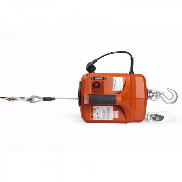 ELECTRIC WINCH PORTABLE SQ-04 250 KG, 8.0 M