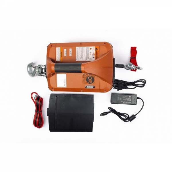ELECTRIC WINCH PORTABLE SQ-05 450 KG, 4.6 M
