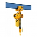 ELECTRIC CHAIN HOIST WITH TROLLEY HHBD 0.5-01 t 500 kg, 6 m