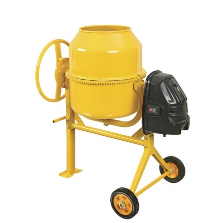 Concrete mixer 120L, Power supply, V / Hz: 230/50 Motor power, W: 500 Total capacity, l: 120 Backfilling capacity, l: 85 Diameter, mm: 505 Revolutions, rpm: 27.7 External dimensions, cm: 740 x 580 x 445 Weight, kg: 47.5